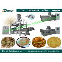 Quality Cereal Breakfast corn flakes processing machine / rice flakes making machine for sale