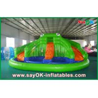 Quality Giant Inflatable Bouncer Slide for Poor , Adult Kids Frog Bouncy castle for sale