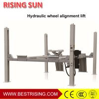 China Car Wheel alignment used four post car lift for service station on sale
