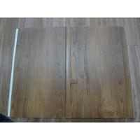 Quality High Strenth 25cm PVC Wall Panels For Showers Groove Design Wall Laminate Sheets for sale