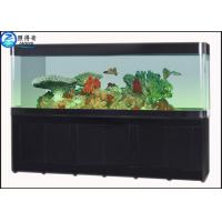 Buy Large Custom Glass Aquarium Dragon Fish Tank , Ecology Fish Tank with Filter 730 mm High at wholesale prices