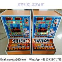 Quality Very Popular In Africa! Jackpot Coin Operated Mini Fruit Casino Gambling Slot Games Machines for sale