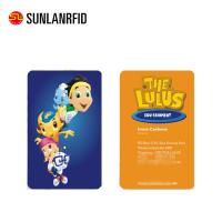 China Full Color Business Printing Plastic PVC Gift Card on sale