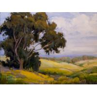 Quality landscape painting tree picture office wall art for sale