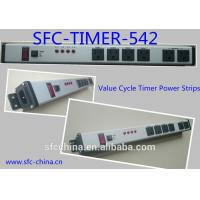 Quality Value Cycle Timer Electrical Outlet , Metal Power Strip With Timer / On Off Switch for sale