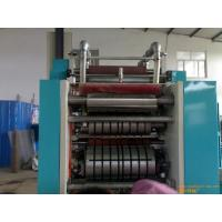 Buy 11 - 25micron thickness Inter Fold Aluminum Foil Machine with magnetic powder brake at wholesale prices