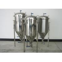 Quality 100L Top Manhole Home Conical Beer Fermenter With Full Fittings for sale