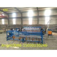Buy 3m width Double wire feeding Fully Automatic Chain Link Fence Machine at wholesale prices