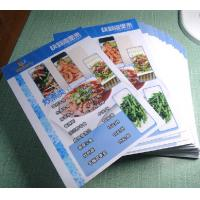 Quality Menu Made By Pvc Plastic Cards for sale