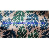 Quality Polyester Satin Microfiber Peach Paper Print W/R Finish 150GSM for sale