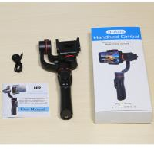 Quality Lightweight Black Handheld Smartphone Gimbal Wide Range 320 Degree Panning for sale