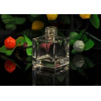 Wholesale Classic square empty Glass Perfume Bottles With Screw Top