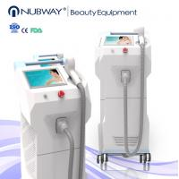 Quality Sapphire contact cooling system 808nm diode laser hair removal machine CE approved for sale