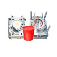 China Durable Household Plastic Paint Bucket Mould , Industrial Injection Molding Tool on sale