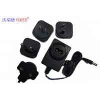 Quality 18V 500mA Interchangeable Power Supply PC ABS Material Short Circuit Protection for sale