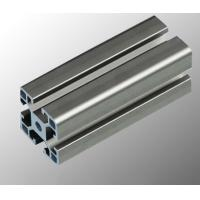 Quality Aluminum Assembly Line Modular Aluminium Profile System With Black / Silvery Anodized for sale