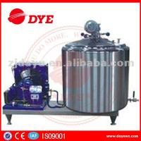 Quality DYE 1000L farm used  Vertical Craft milk tank For Bulk Milk, liquid chiller for sale