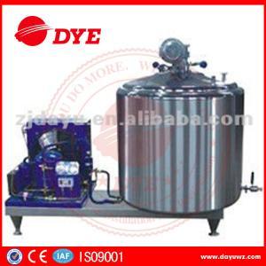 Quality DYE 1000L farm used  Vertical Craft milk tank For Bulk Milk, liquid chiller for sale