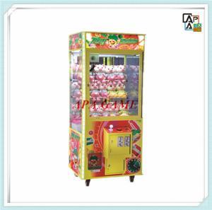 Buy Toy Solider children kids arcade amusement toy crane pusher game machine at wholesale prices