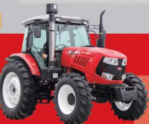 Quality 80hp Wheel Horse Garden Tractor , 2200r/Min Farmers Trader Tractors for sale