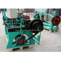 Quality Agriculture Automatic Barbed Wire Manufacturing Machine With Electro Galvanized Wire for sale