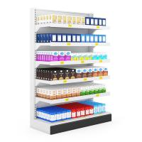 Buy cheap Cosmetic modern display shelf for large breasts from wholesalers