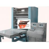 Quality CE Pop up Foil Sheet Folding Machine with Tool steel inclined knife for cutting for sale