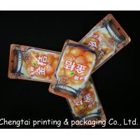 Quality Mini Recyclable Snack Packaging Bags With Zipper Gravure Printing 100 Microns Thick for sale