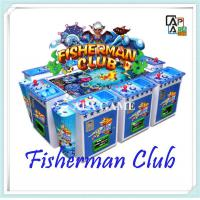 Quality Hot sale 8players fishman club suchi fishing seafood paradise arcade shooting fish game machine for sale