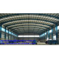China Construction prefabricated steel roof truss design on sale