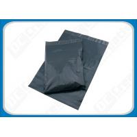 Quality Recycled Polythene Envelopes Grey Mail Bags , Opaque Plastic Mailing Bags For Post Offices for sale