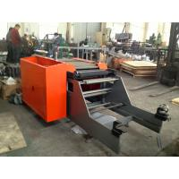 Buy Stretch Film Rolls Shrink Wrapping Machine for Foil Roll , PLC High accuracy shrink wrap machinery at wholesale prices