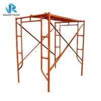 Quality Steady Steel / Aluminium Mobile Scaffold Flexible Frame Parts Easy To Use for sale