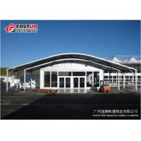 Quality Aluminum Frame Clear Span Tent Arcum Tent For Exhibition Temporary Fabric Structures for sale