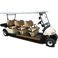 Quality CE Approval Multiple Purpose 6 Seats Electric Golf Cart Club Car With Plastic Cargo Box for sale