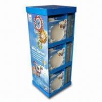 Quality POP Display Stand with 4C Offset Printing, Ideal for Baby and Mother Card Products for sale
