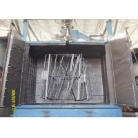 Quality Double Hanger Automatic Shot Blasting Machine For Bicycle Frame Cleaning for sale