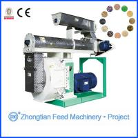Quality Heavy Duty Livestock / Feed Pellet Mill Machine With Stainless sSeel Conditioner SZLH320 for sale