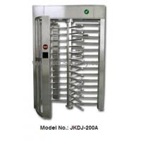 Quality ID/IC Fingerprint Access control system Automatic stainless steel Full Height Turnstile for sale