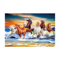Quality 40*60cm 3D Image Poster Large Size Animal Horse Pictures Wall Prints for sale