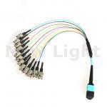 Quality MPO / MTP  -  MPO / MTP female MPO fiber cable single mode optical fiber patch cord for sale