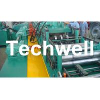 Quality YX-86-194-312 W Beam Guardrail Roll Forming Machine For 2 - 4mm Material Thickness for sale