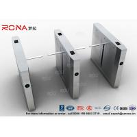 Quality High Speed Drop Arm Turnstile , Magnetic Card Stainless Steel Access Control System for sale