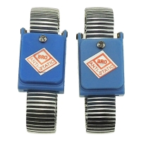 Quality PVC PU Coil 0.1s Static Dissipative ESD Wrist Strap for sale