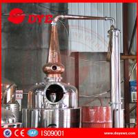 Quality Stainless Steel Home Alcohol Distiller Red Copper Bubble Caps And Column Plates for sale