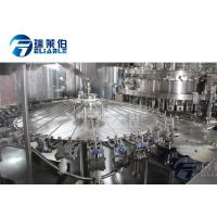 Buy cheap Electrical Control Carbonated Drink Filling Machine Slim Bottle Beverage Filling from wholesalers
