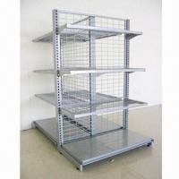 Quality Netting Wire Rack Shelf for Supermarket Display Stand, Custom-made, Various Sizes Available for sale