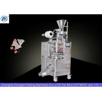 Quality Small Automatic Tea Bag Packaging Machine 1.1 Kw 380v For Triangle Shaped Tea Bags for sale