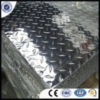 Quality 5005/5052/5754 Mirror Polished Prices of Aluminium Diamond Tread Plate Coil for sale