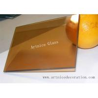 Buy 4mm,5mm,5.5mm,6mm,8mm bronze reflective glass with CE certificate and ISO9001 at wholesale prices